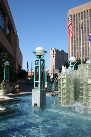 Boise City Hall - Fountains